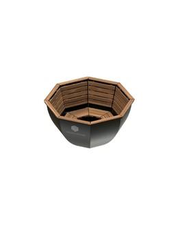 Банный чан ВОЕВОДА (8-10 чел) с обшивом
